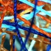Threads 2 Art Print