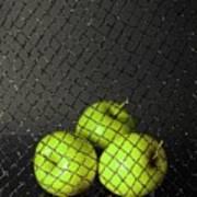 Three Apples Art Print