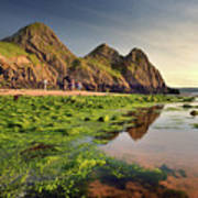 Three Cliffs Bay 3 Art Print