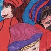 Three Directions Art Print