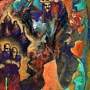 Three Dwarves Art Print