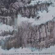 Three-family Village Art Print