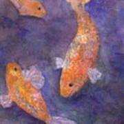Three Fish Art Print