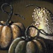Three Gourds Art Print
