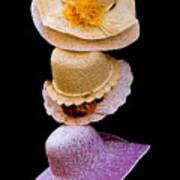 Three Hats Art Print
