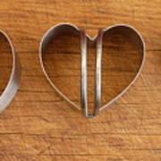 Three Heart Cutters Art Print