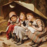 Three Little Kittens Art Print