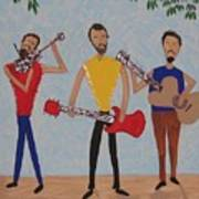 Three Musicians Art Print