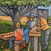 Three Musicians Art Print