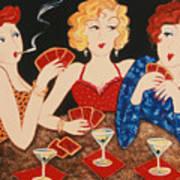 Three Of A Kind Art Print by Susan Rinehart