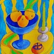Three Oranges Art Print