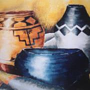 Three Pots Art Print