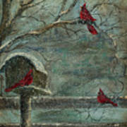 Three Reds Art Print