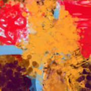 Three Rivers In The Sahara Art Print