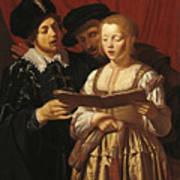 Three Singers Art Print