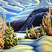 Three Valley Gap Art Print