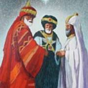 Three Wise Men Art Print