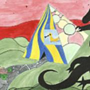 Three Wise Swans  Art Print