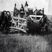 Threshing Day Art Print