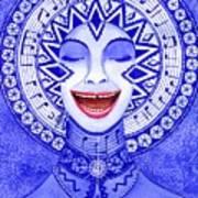 Throat Chakra Art Print