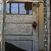Through A Broken Window Art Print