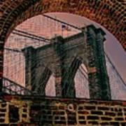 Through The Arch 2 Art Print