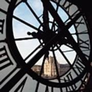 Through The Clock Art Print