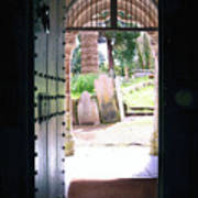 Through The Door Of St Mylor Art Print