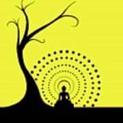 Through The Eye Of Buddhism Art Print