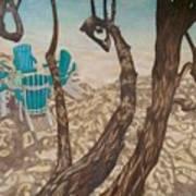 Through The Trees, St John Art Print