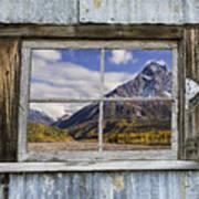 Through The Window Of The Past Art Print