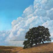 Thunder Clouds Mt. Diablo Art Print