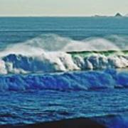Thunder Of The Waves Art Print