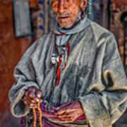 Tibetan Refugee Art Print