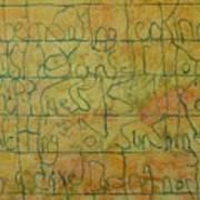 Tibetan Saying Art Print