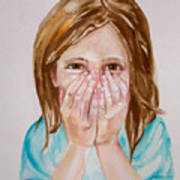 Tickled Pink Print by Anne Cameron Cutri