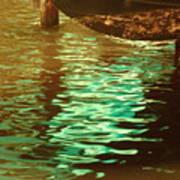 Tidal Hues Art Print