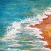 Tide Rushing In Art Print