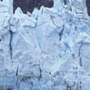 Tidewater Glacier In Glacier Bay Art Print
