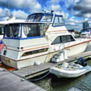 Tidewater Yacht Marina 5 Print by Lanjee Chee