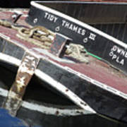 Tidy Thames Art Print