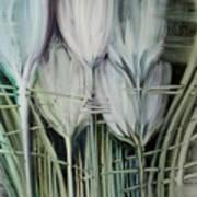 Tied Hands Art Print by Fatima Stamato