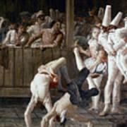 Tiepolo: Acrobats, 18th C Art Print