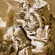 Tiepolo: Saint Jerome Art Print