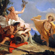 Tiepolo's Apollo Pursuing Daphne Art Print