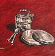 Tiffin Carrier - Still Life Art Print