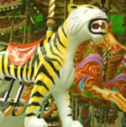 Tiger Carousel Art Print