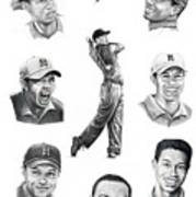 Tiger Woods-murphy Elliott Art Print