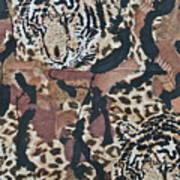 Tigers Tigers Burning Bright Art Print