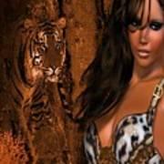 Tigress # 2 Art Print